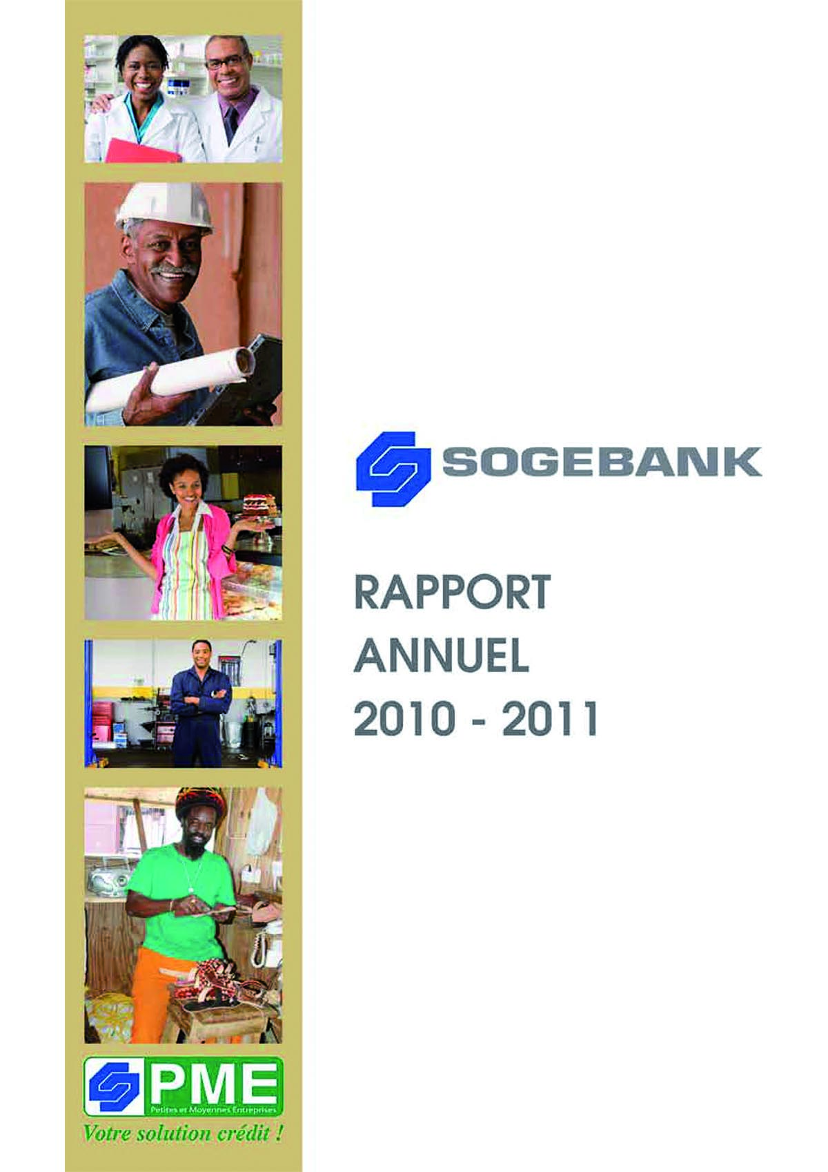 Rapport  Annuel 2010 – 2011